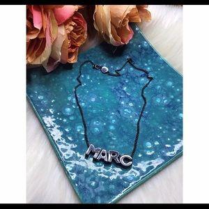 Marc Jacobs hematite necklace